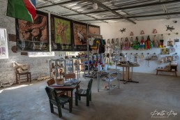 REST Namibia's Wildlife Center and Gift Shop in Outjo, Namibia